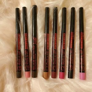 Lot 8 Unused Roll It Up Lip Liners